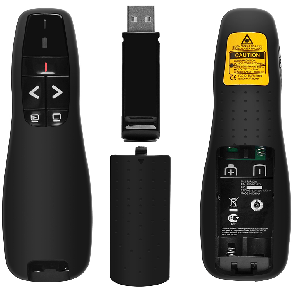 Beboncool Wireless Presenter Remote 24ghz Usb Powerpoint Logitech R400 Pointer Ppt Clicker