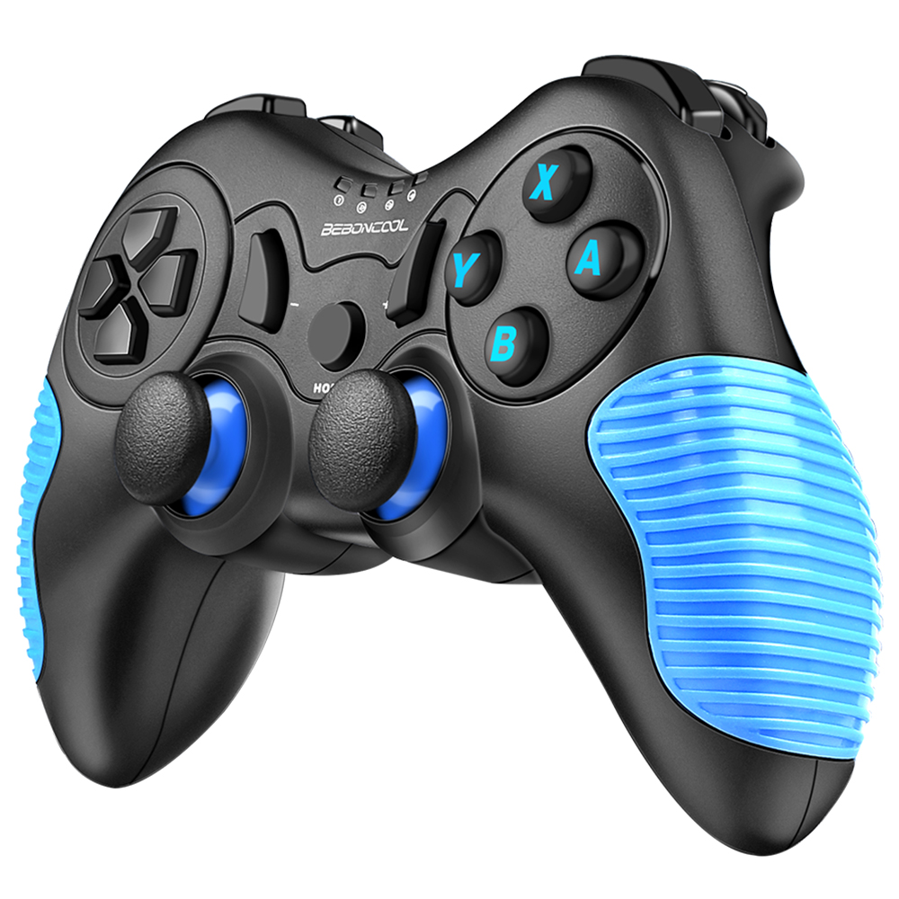 BEBONCOOL Wireless Controller for Nintendo Switch Remote Pro Controller  Gamepads - Blue Anti-Skid