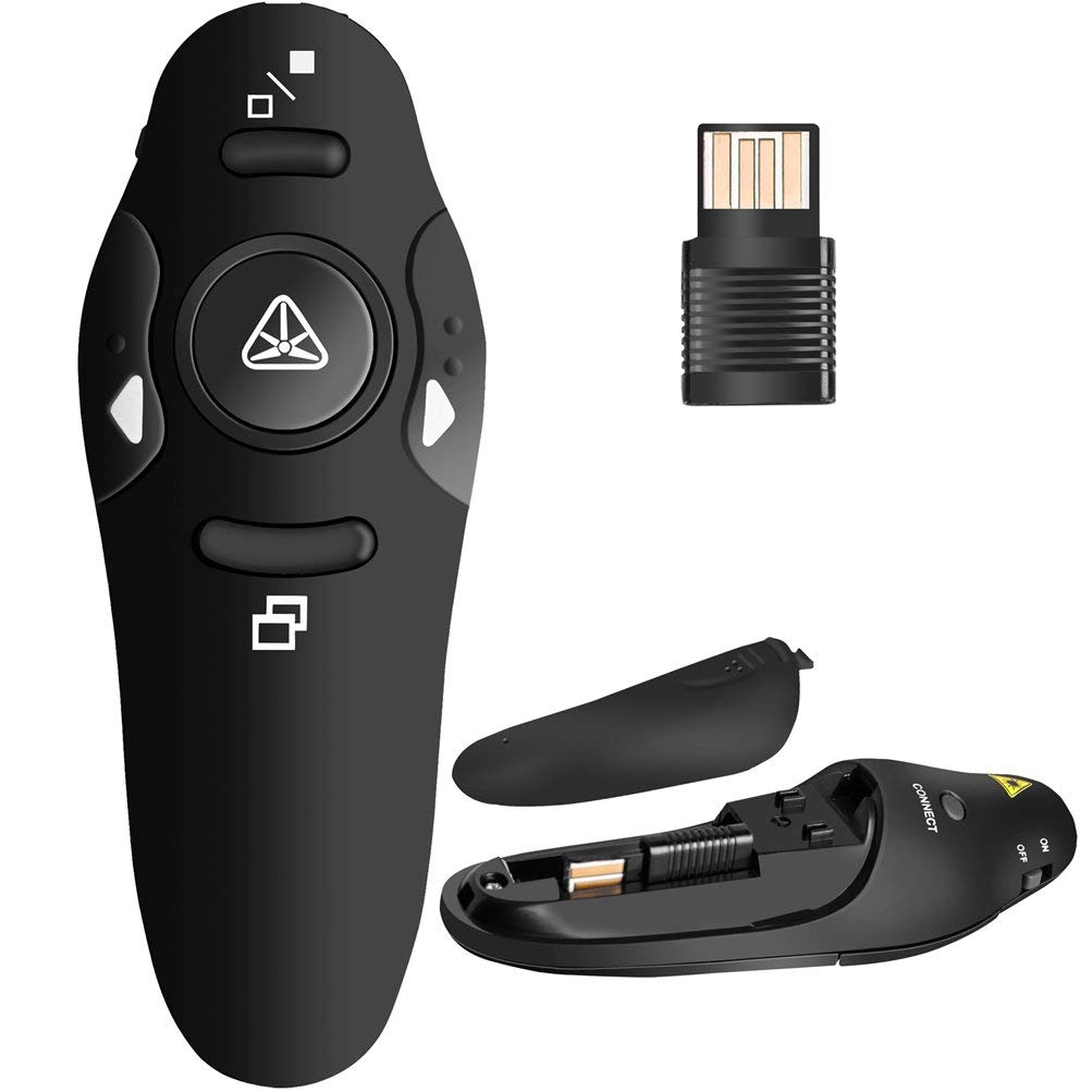 2,4G Wireless Presenter Remote-Präsentation USB-Steuerung PowerPoint PPT-Clicker