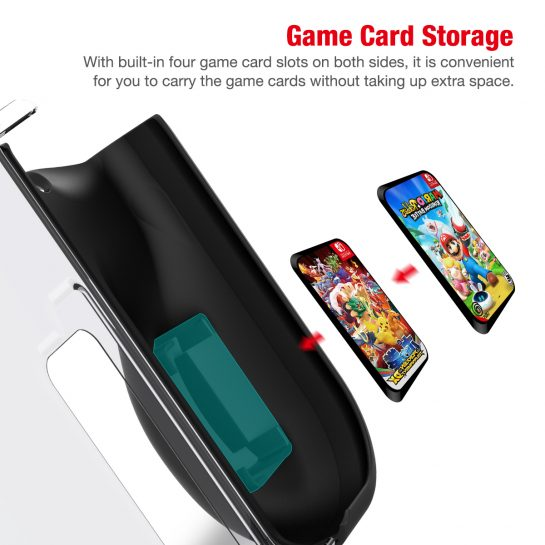 BEBONCOOL Protective Case For Nintendo Switch With Game Card Slots For Joy Con Controller Anti-scratches & Anti-shock