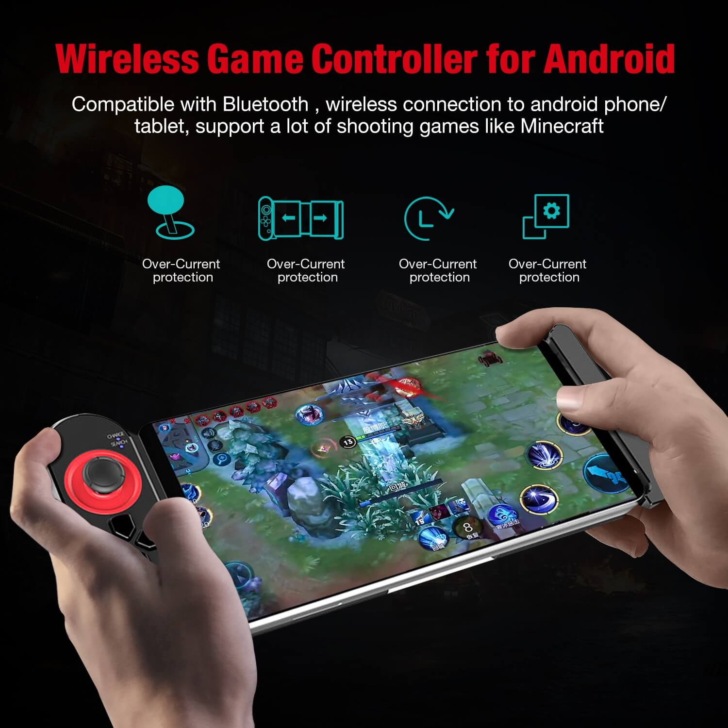 BEBONCOOL Fortnite Wireless Android Controller