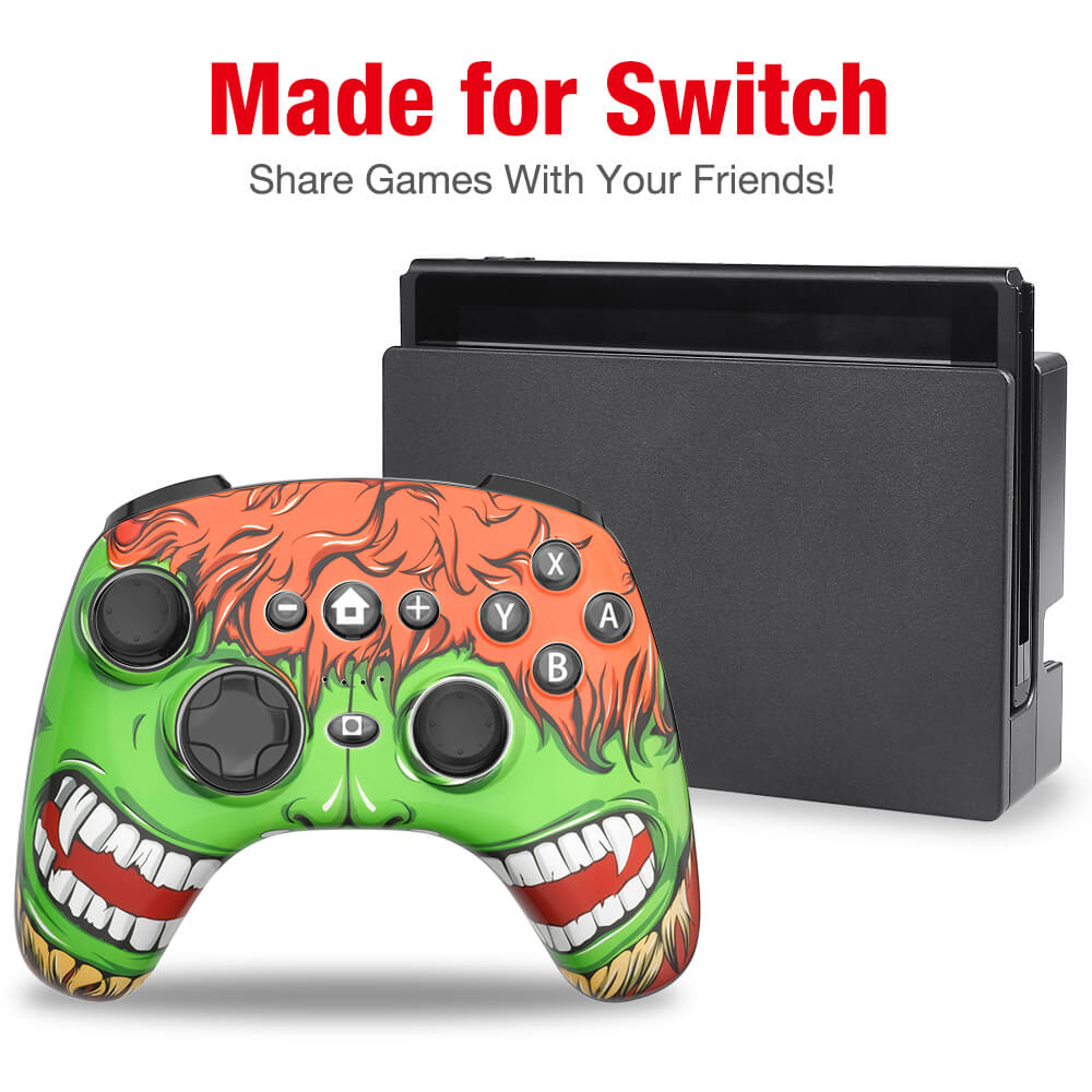 beboncool switch controller with extra cover skin