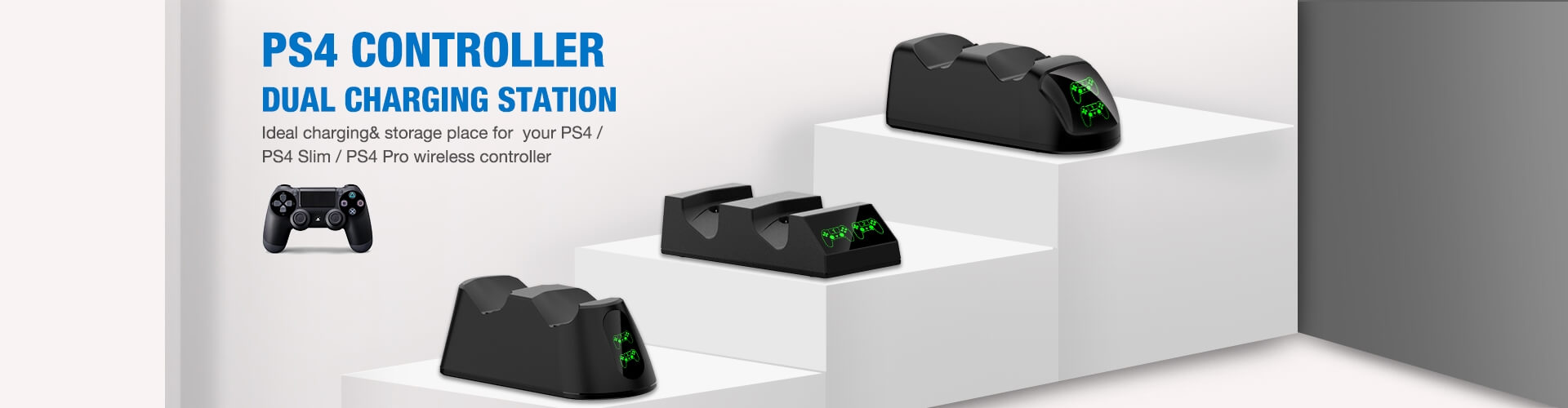 beboncool battery charging dock for ps and xbox 1