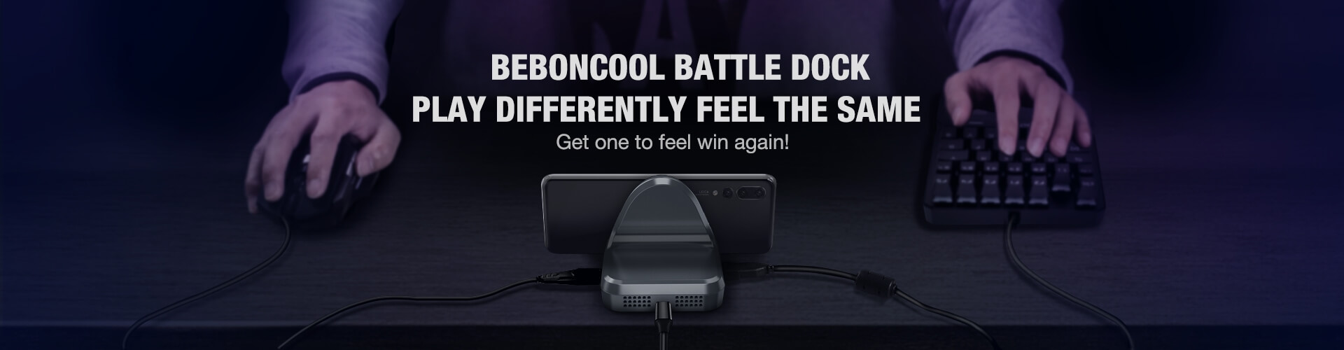 beboncool keyboard and mouse converter for pubg mobile